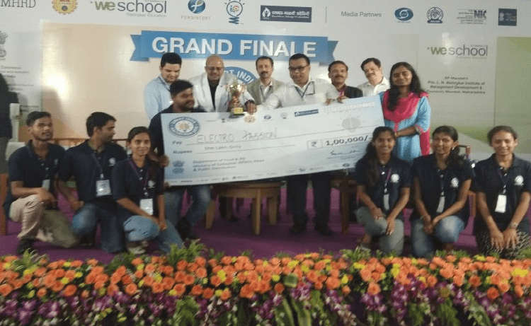 Winners of grand finale SIH 2018